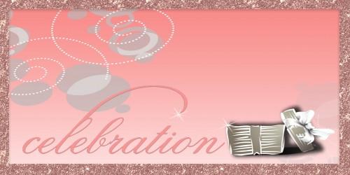 Celebration Banner - Gift Pink