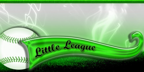 Green Softball Banner - Sports Banner