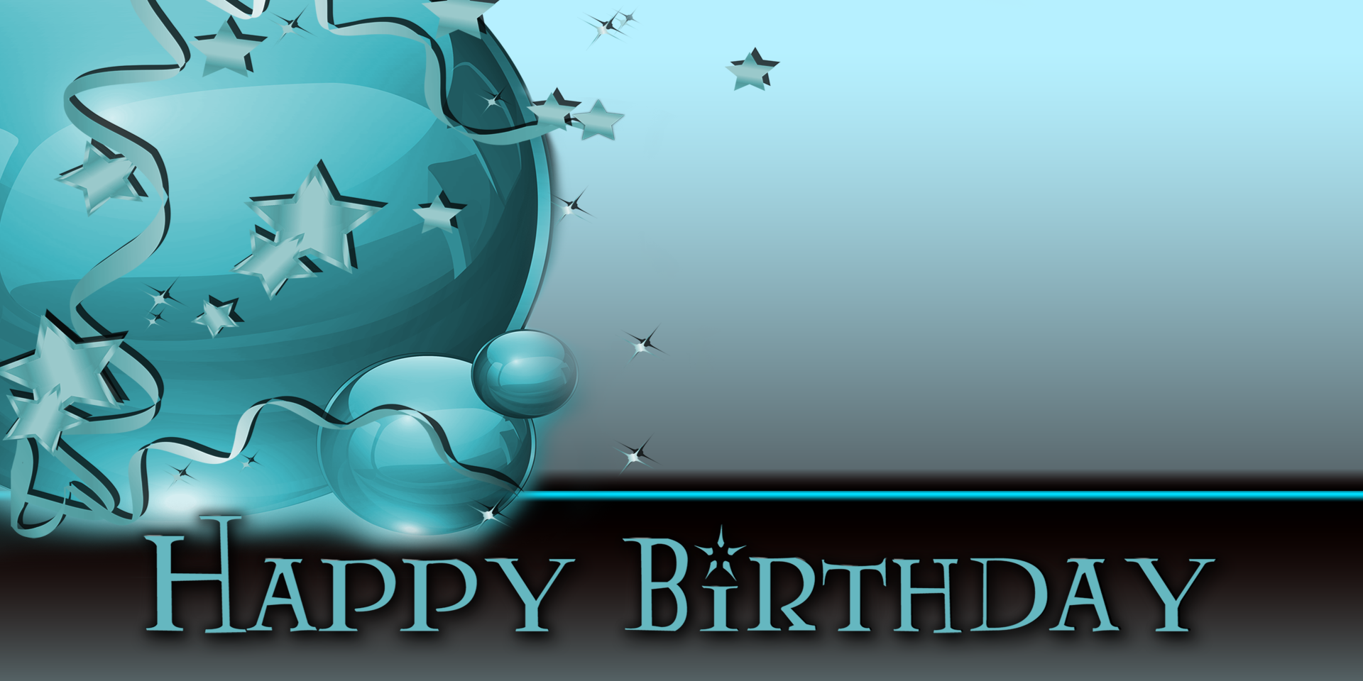 Teal Happy Birthday Banner Teal Sign Teal Customize Banner Teal Party Decor Teal Banner Teal Birthday Banner Teal Birthday Banner