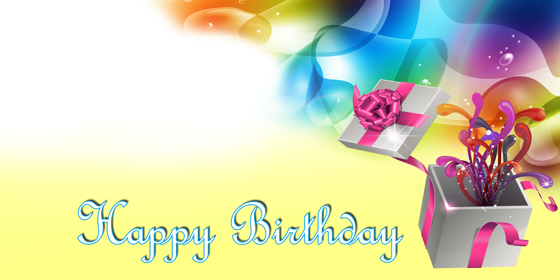 Happy Birthday Banner - Yellow Gift - Vinyl Banners | Gatorprints