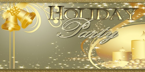 Holiday Banner Holiday Party