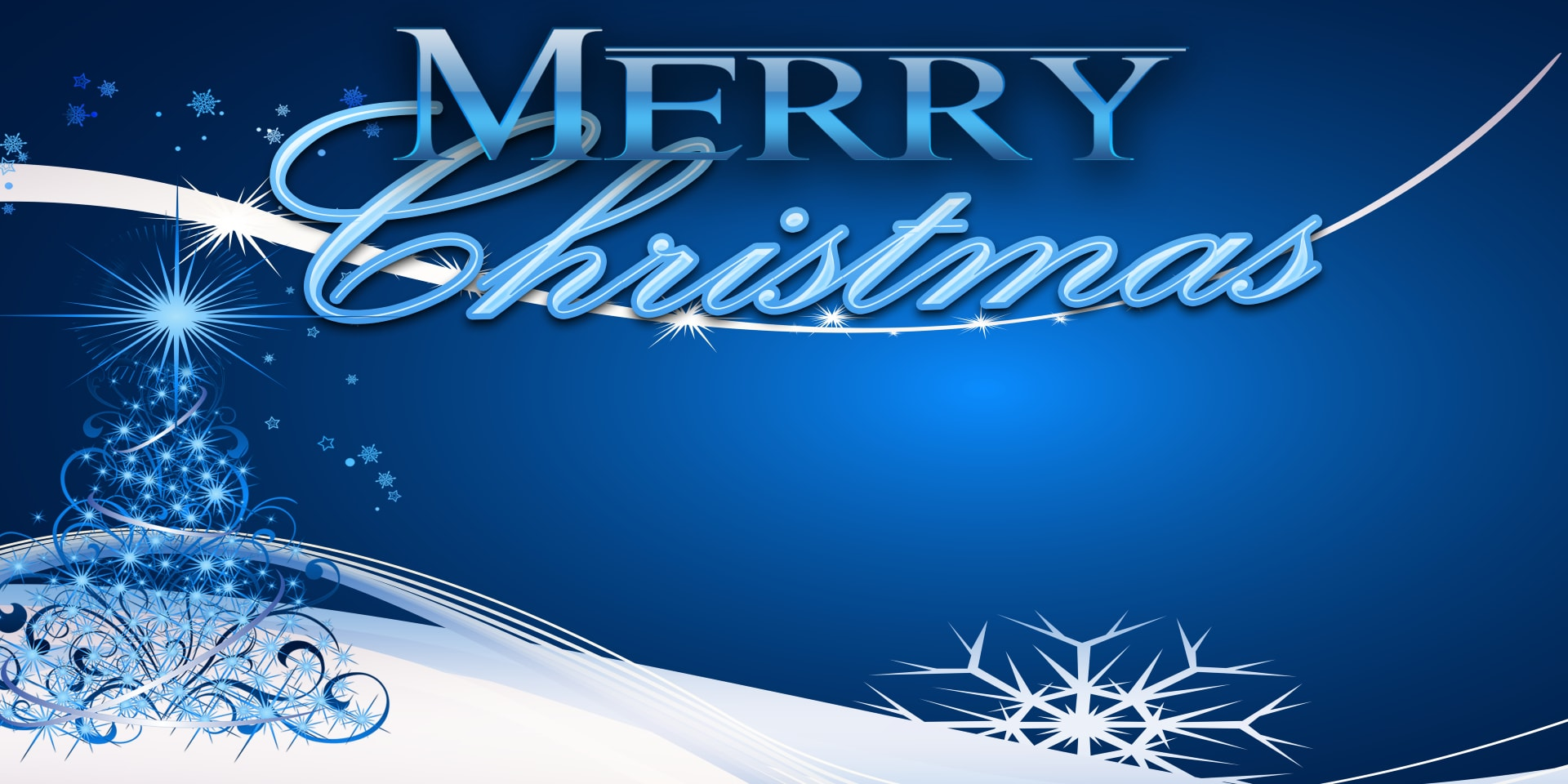 Holiday Banners Merry Christmas