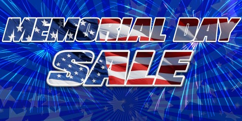 Image Only Banner - Memorial Day Sale