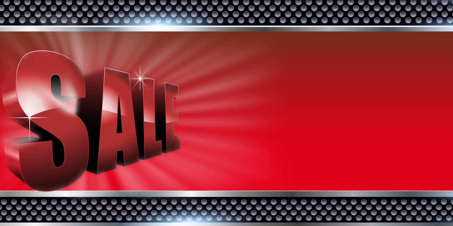 Business Banners 3d Red