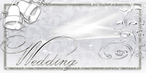 Wedding Banner - Bells Silver