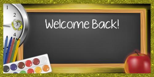 School Banner - Welcome Back Banner