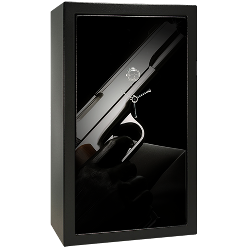 Covert Operation Small Gun Safe Decal