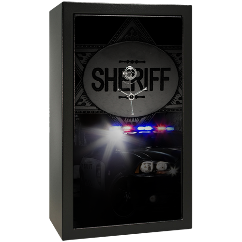 Deputy Sheriff Small Gun Safe Decal