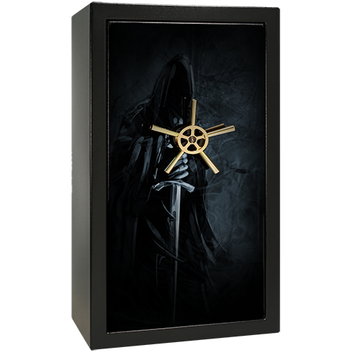 Grim Reaper Small Gun Safe Decal
