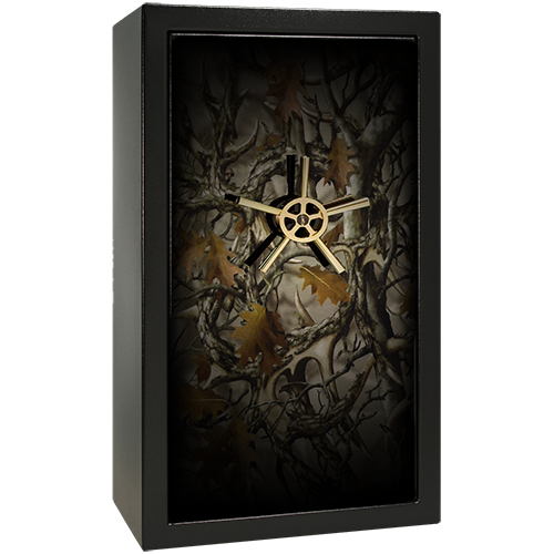 Hunting Camo Small Gun Safe Decal