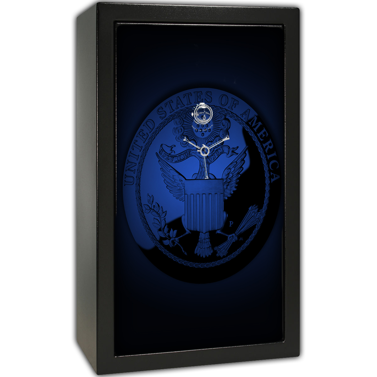Gun Safe Decal - Large United States Seal Blue