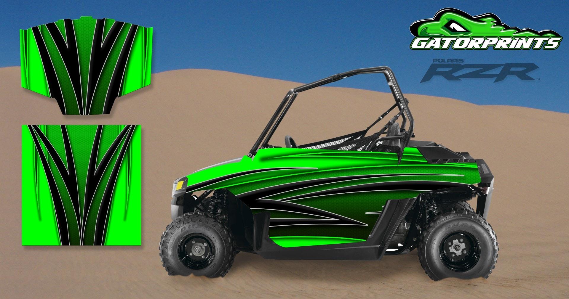 RZR Custom Decal Kits Polaris Graphics - Decal works graphicsdecal works camo graphics youtube