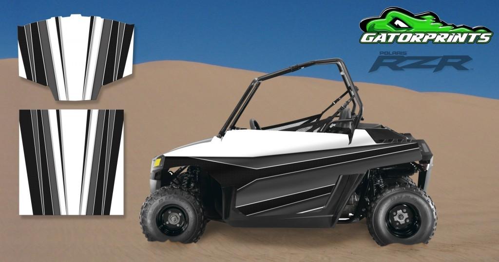Grey 2014 RZR XP2 1000 Custom Decal Kits – Mini 170