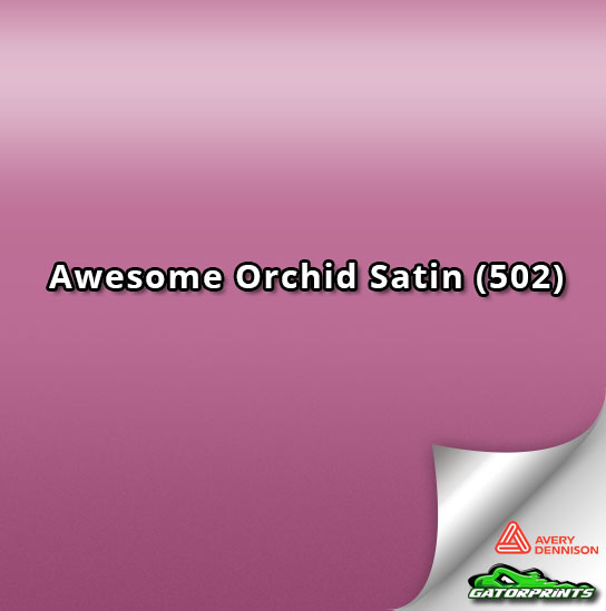 Awesome Orchid Satin (502)