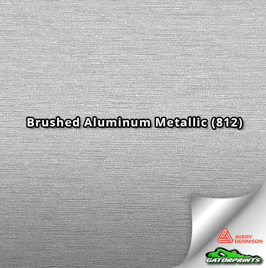 Brushed Aluminum Metallic (812)