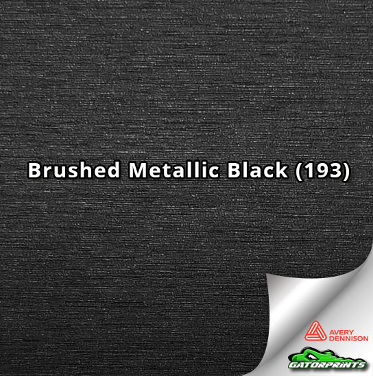 Brushed Metallic Black (193)