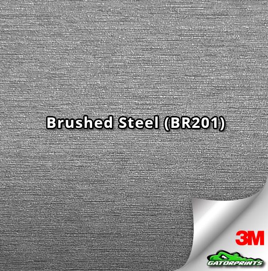 Brushed Steel (BR201)