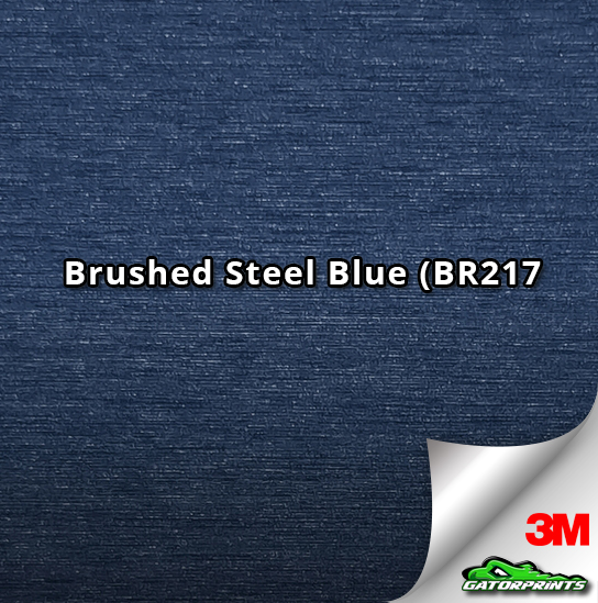 Brushed Steel Blue (BR217