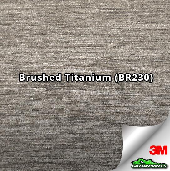 Brushed Titanium (BR230)