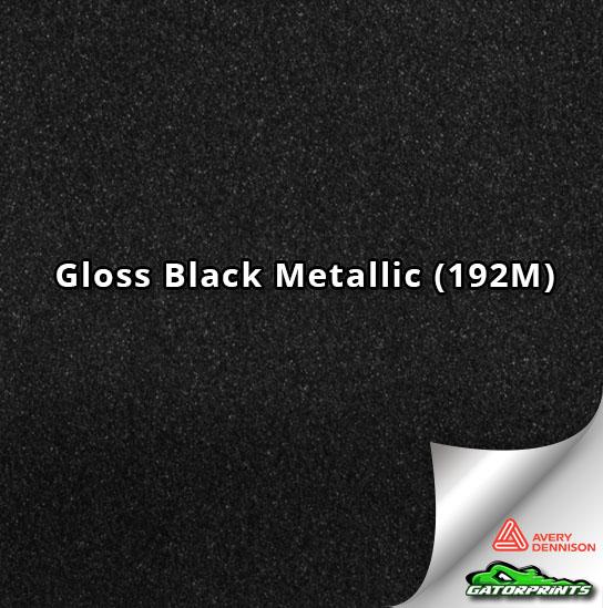 Gloss Black Metallic (192M)