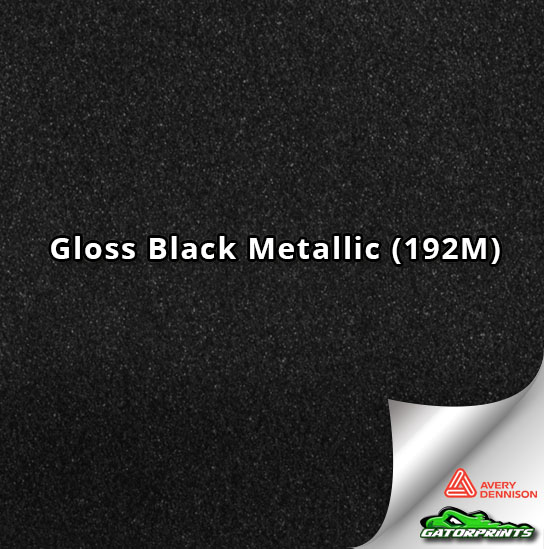 Gloss Black Metallic (192M)