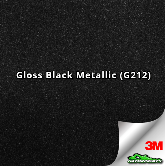 Gloss Black Metallic (G212)