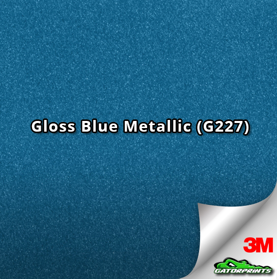 Gloss Blue Metallic (G227)