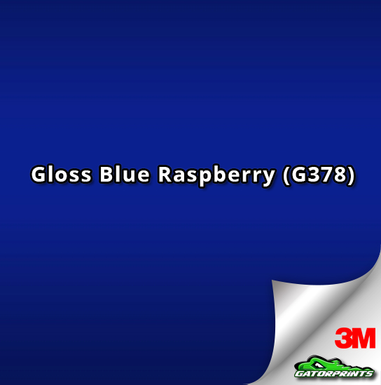Gloss Blue Raspberry (G378)