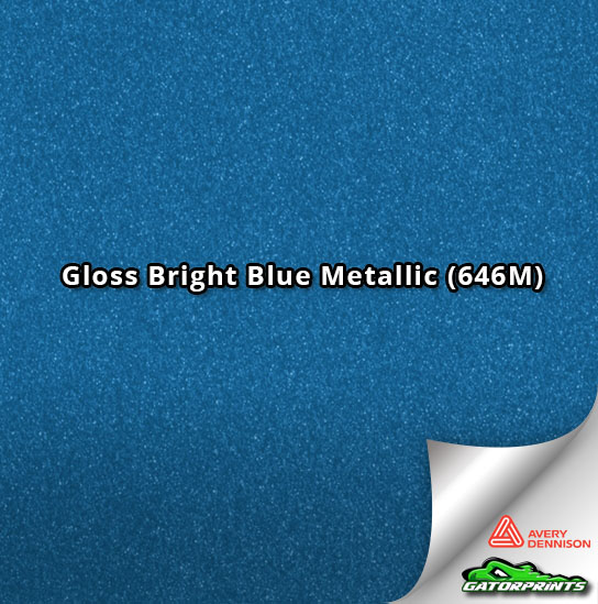 Gloss Bright Blue Metallic (646M)