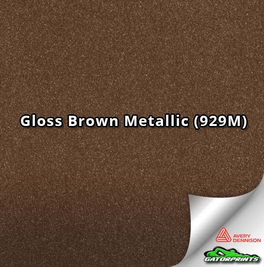Gloss Brown Metallic (929M)