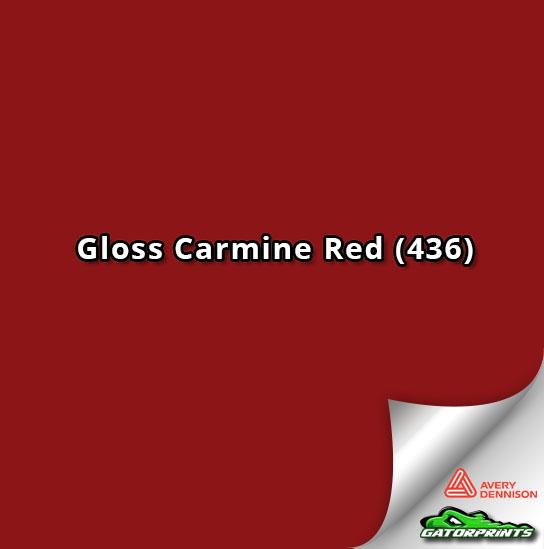 Gloss Carmine Red (436)