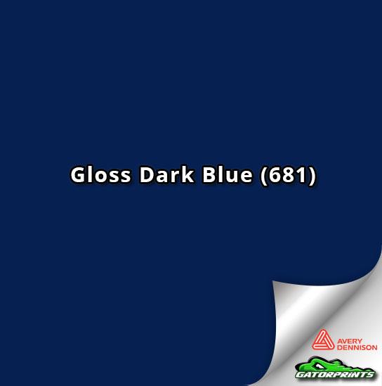 60 Quot Avery Dennison Gloss Dark Blue 681 Gatorprints
