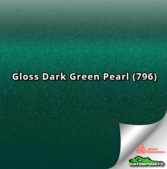 Gloss Dark Green Pearl (796)