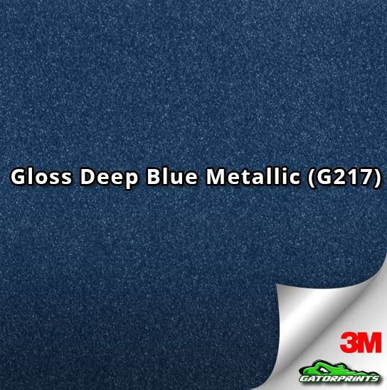 Gloss Deep Blue Metallic (G217)
