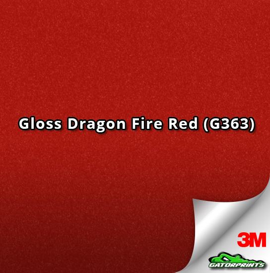 Gloss Dragon Fire Red (G363)