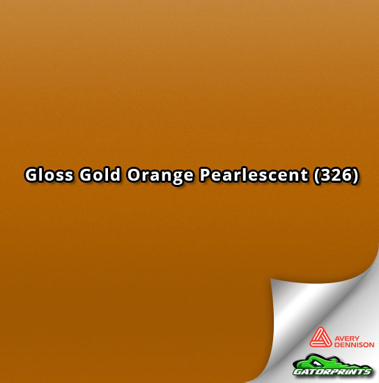 Gloss Gold Orange Pearlescent (326)