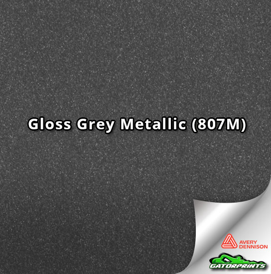 Gloss Grey Metallic (807M)
