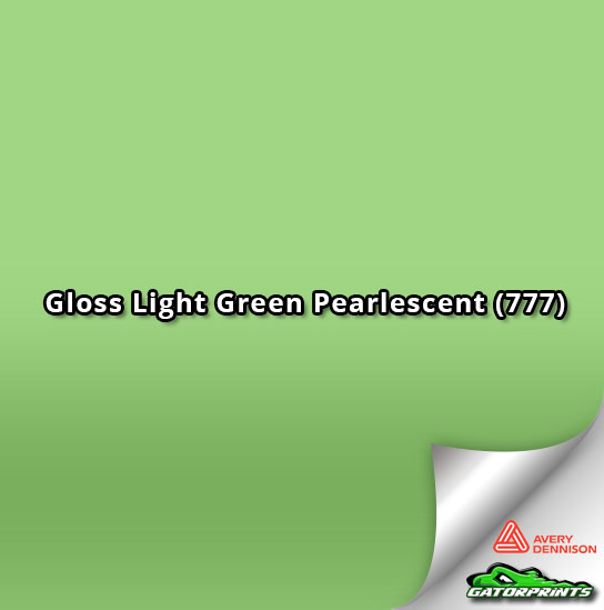 Gloss Light Green Pearlescent (777)