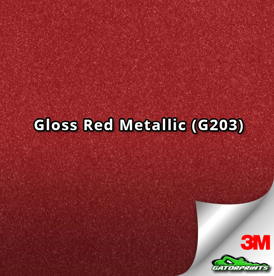 Gloss Red Metallic (G203)