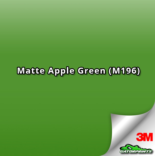 3M 1080 Matte Apple Green (M196)