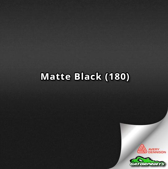 Matte Black (180)