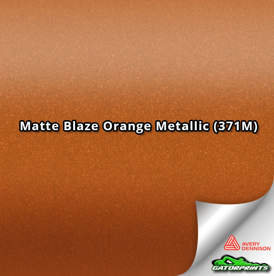 Matte Blaze Orange Metallic (371M)