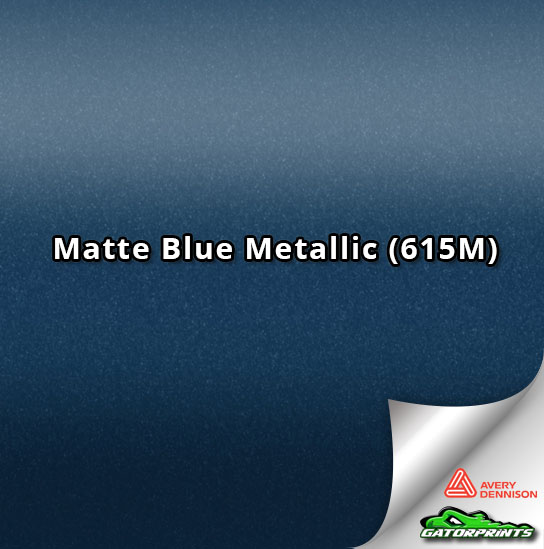 Matte Blue Metallic (615M)
