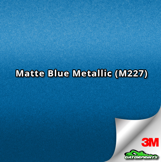 3M 1080 Matte Blue Metallic (M227)