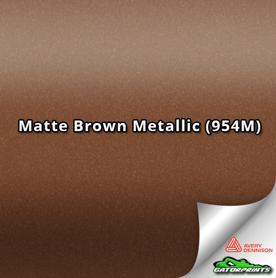 Matte Brown Metallic (954M)
