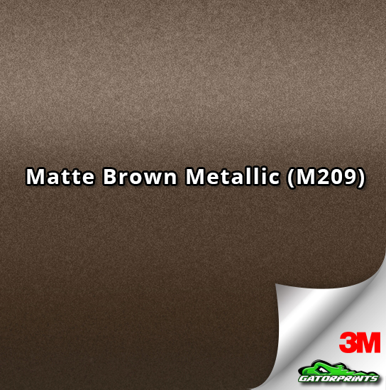 Matte Brown Metallic (M209)