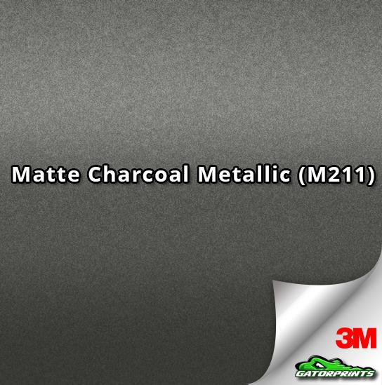 3M 1080 Matte Charcoal Metallic (M211)