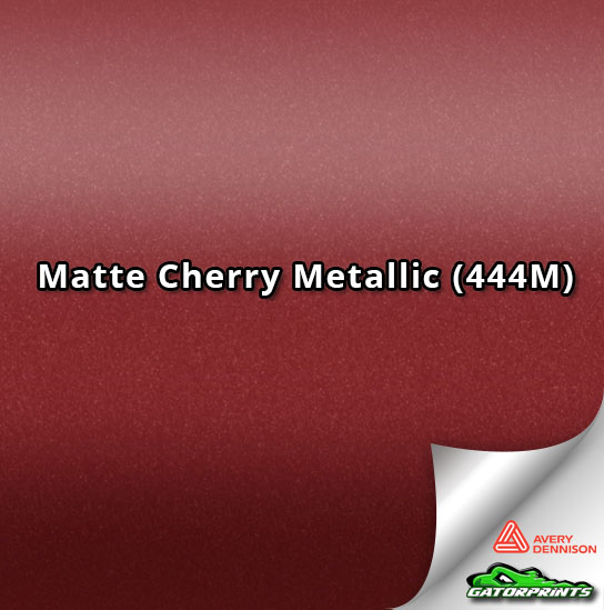 Matte Cherry Metallic (444M)