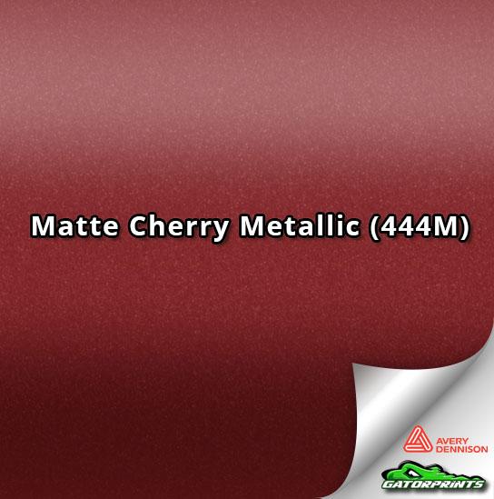 Matte Cherry Metallic (444M)