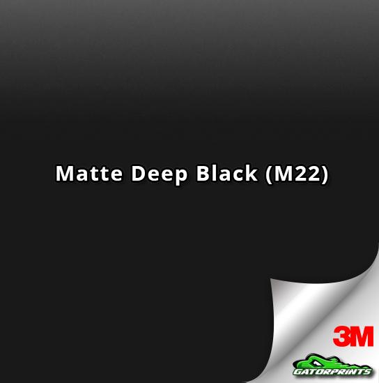 3M 1080 Matte Deep Black (M22)